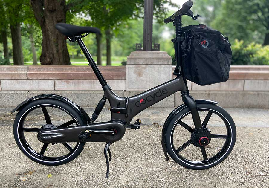 Gocycle electric folding bikes