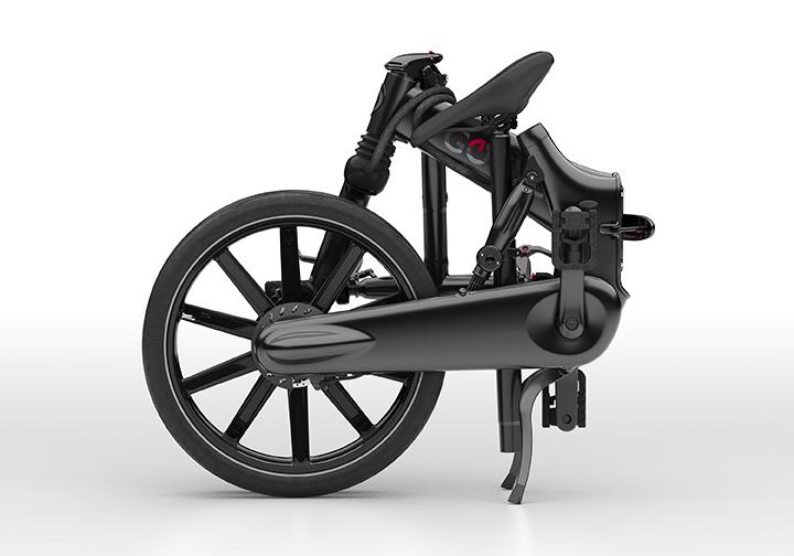 Gocycle folding e-bike