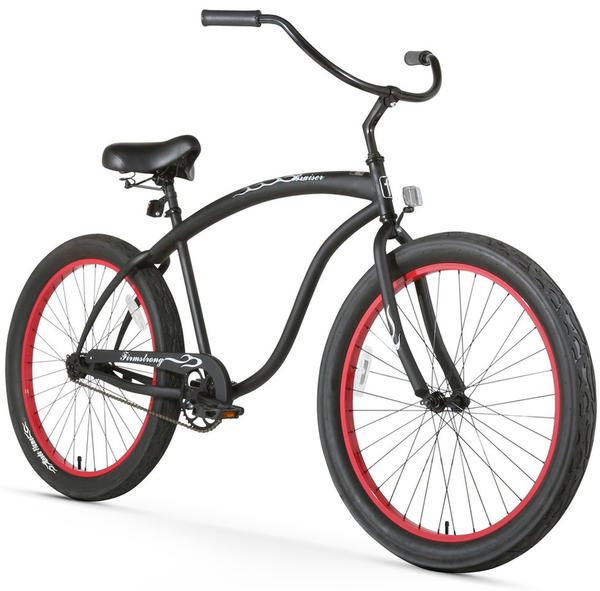 "Firmstrong BRUISER 3.0 Single Speed 26"" - Matte Black -"