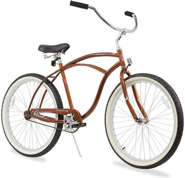 "Firmstrong URBAN MAN Single Speed 26"" Color: Gloss Brown"