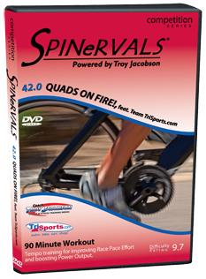 """Spinervals 42.0 """"Quads on Fire!"""""""