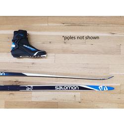 Bikes & Beyond Adult Skate Ski Package