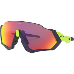 Oakley FLIGHT JACKET MATTE NAVY/ RETINA BURN PRIZM ROAD