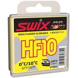 Swix HF10 High-fluoro glide wax