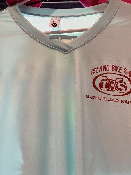 Island Bike Shop UV Performance Long Sleeve Woman's V Neck