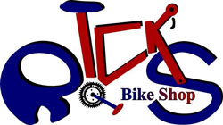 Rick's Bike Shop Logo