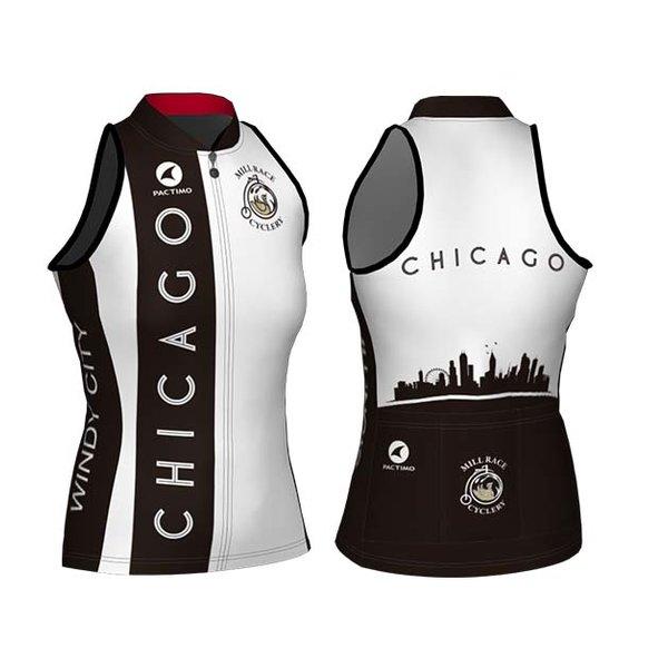Mill Race Custom Chicago Windy City Sleveless Jersey