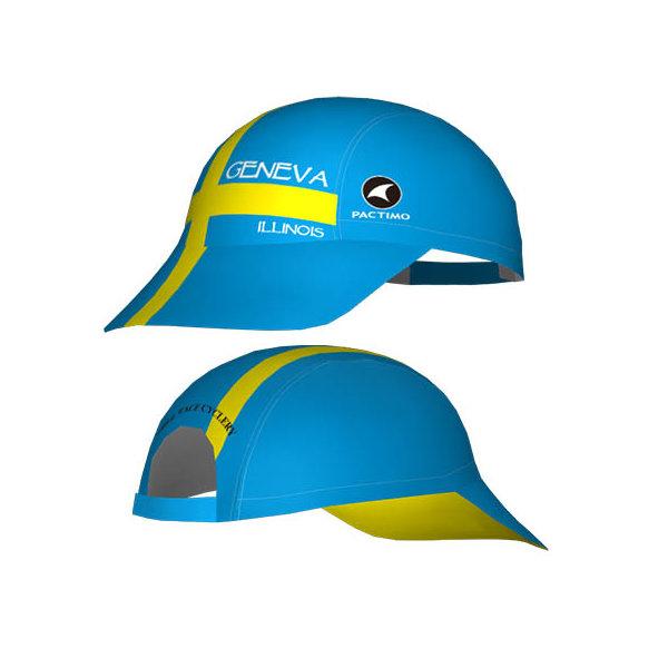 Mill Race Custom Geneva Running Cap