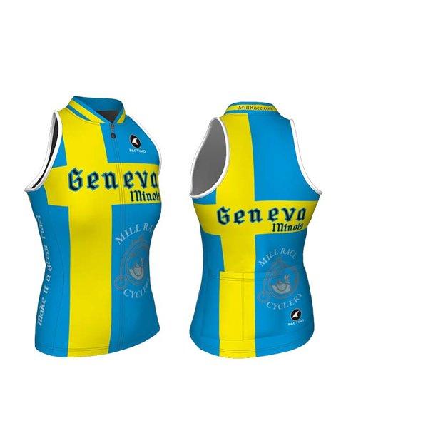 Mill Race Custom Geneva Swedish Flag - Sleeveless jersey