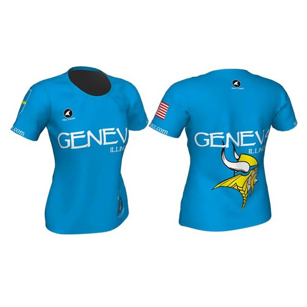 Mill Race Custom Geneva Run Shirt - Womans