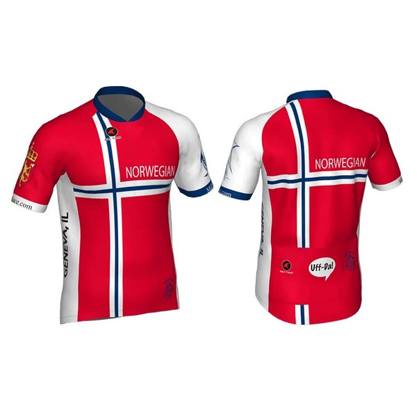 Mill Race Custom Norwegian jersey