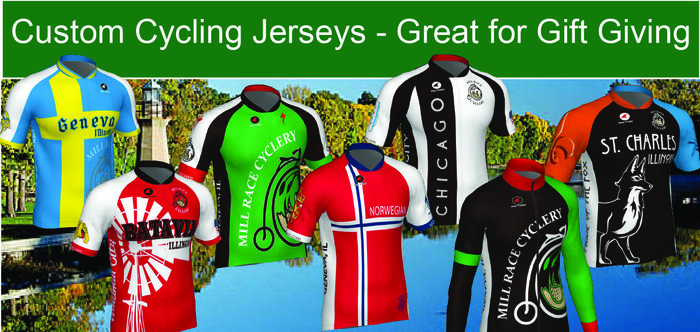 Mill Race Cyclery Custom Clothing