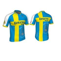 Mill Race Custom Geneva Swedish Flag Jersey