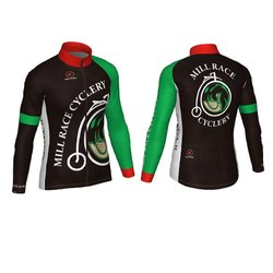 Mill Race Custom Mill Race Mens Race Long Sleeve Jersey