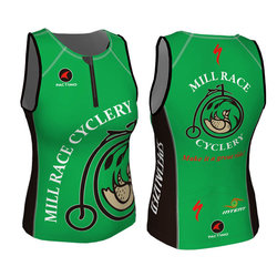 Mill Race Custom Mill Race Tri Top - Womens