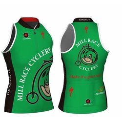 Mill Race Custom Mill Race Sleeveless Race Fit Jersey