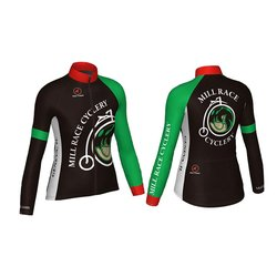 Mill Race Custom Mill Race Womans Long Sleeve Jersey