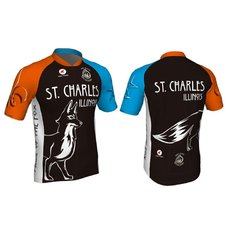 Mill Race Custom St. Charles Pride of the Fox jersey