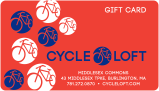 The Cycle Loft Gift Card