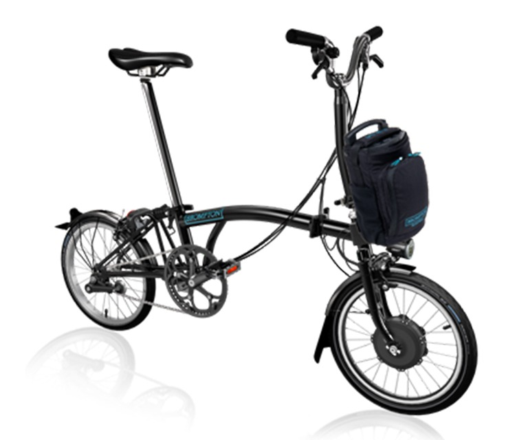 Assembled Brompton Electric Bike