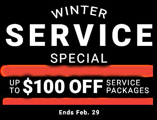 Winter Service Special