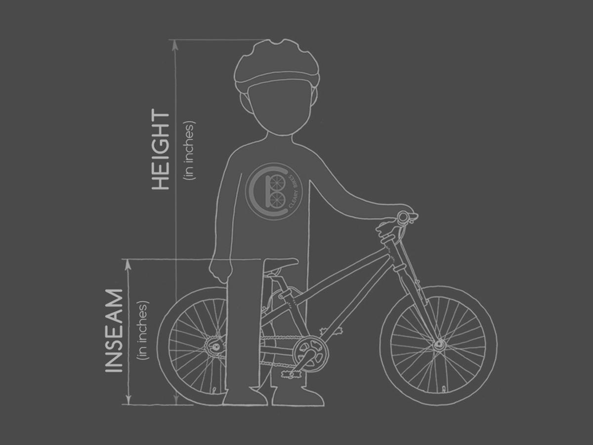 Cleary Bike Dimensions