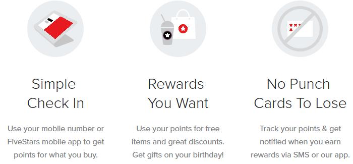FiveStars Rewards Program | Global Bikes