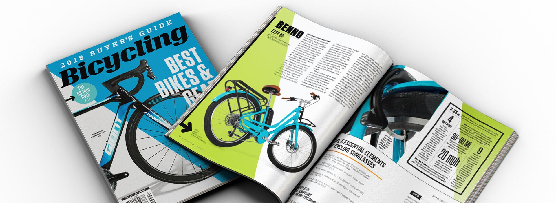 Benno, Bicycling Guide 2018, Electric Bicycles, E-Bikes