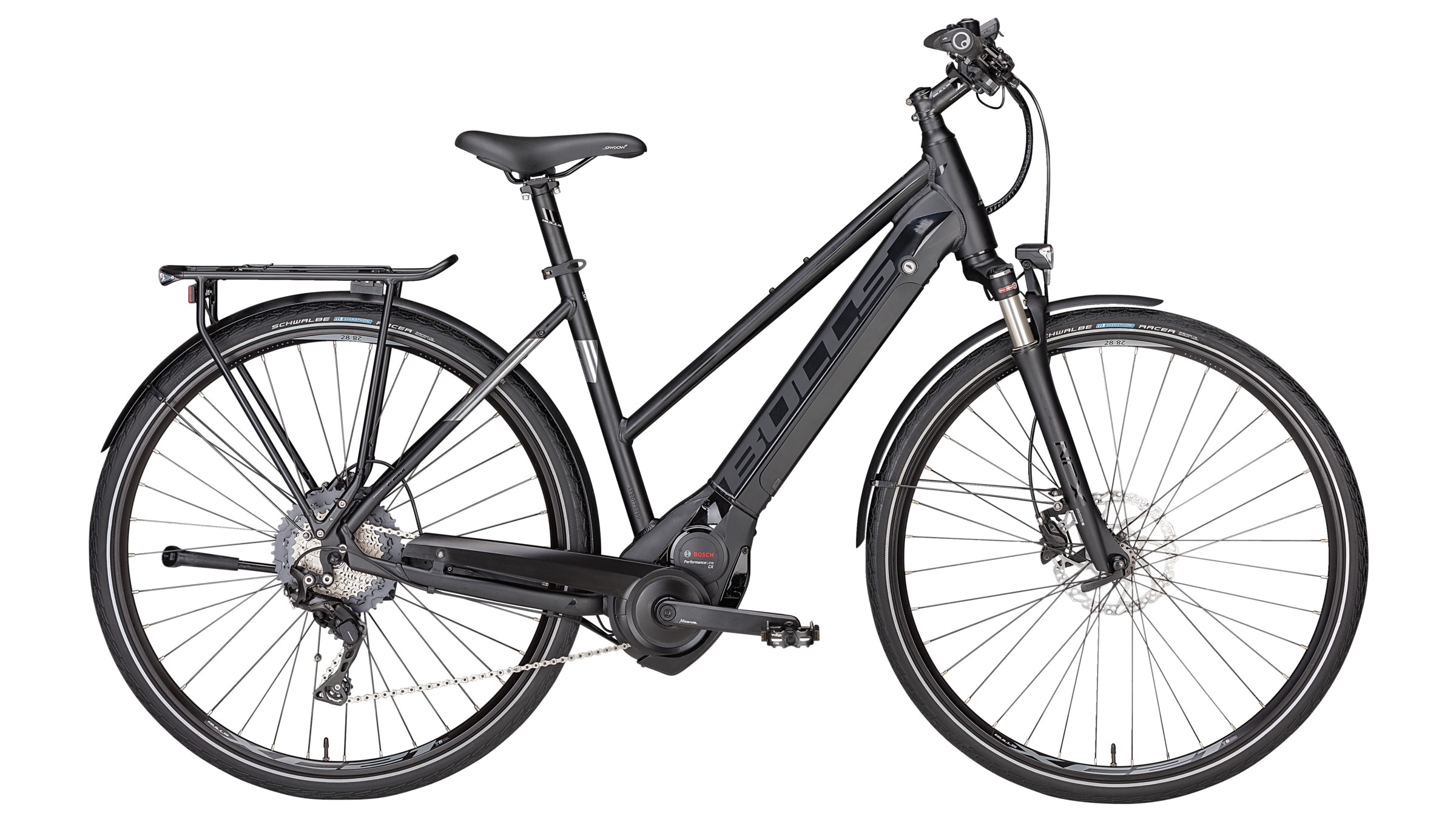 Bulls commuter electric bikes with fenders