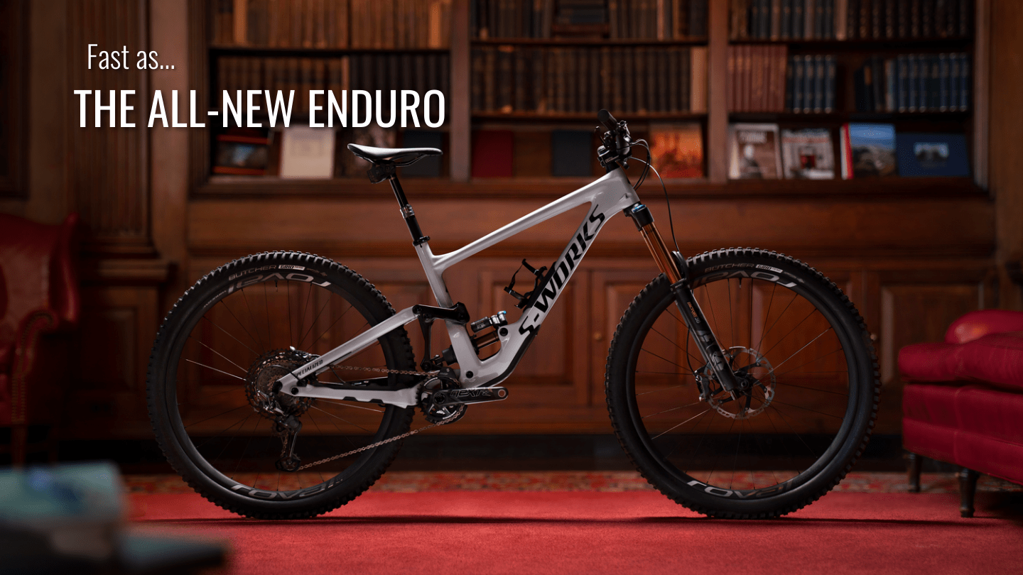 Global Bikes, Specialized Enduro, Specialized mountain bikes, 33.36557083006915, -111.78777694702148