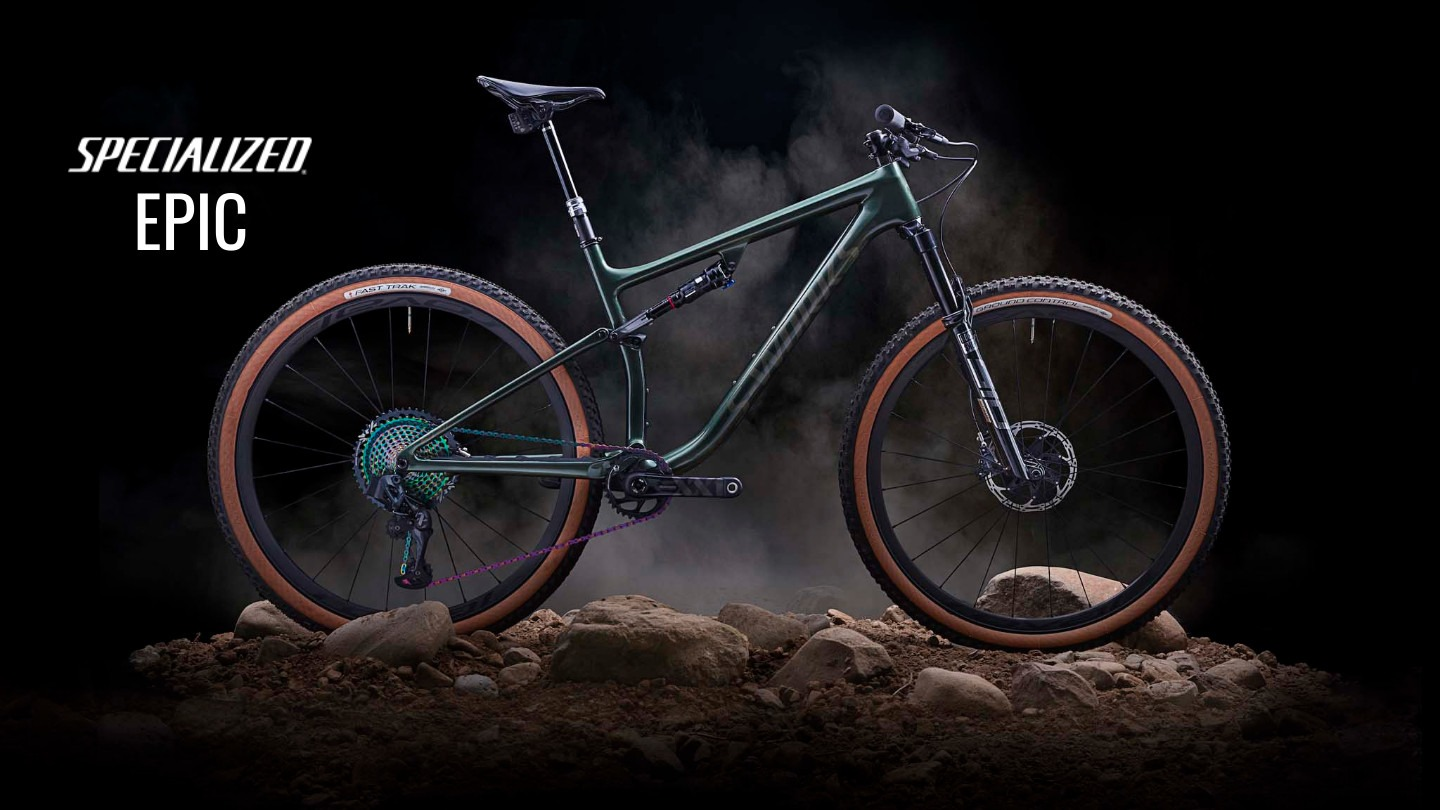 Specialized Epic, Specialized mountain bike, MTB, Full suspension bicycle, suspension bike, Specialized dealers, XC mountain bikes, cross country bike
