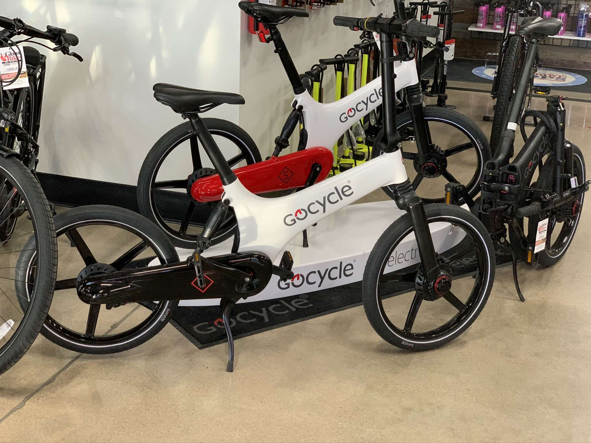 Gocycle folding electric bikes