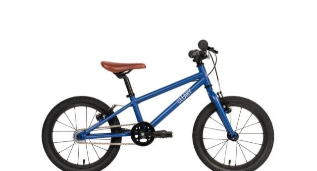 Side view of the Hedgehog model, a 16 inch kids bike.