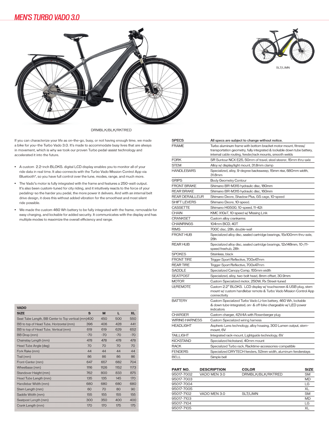 Specialized Turbo Vado 3.0 (E-Bikes)