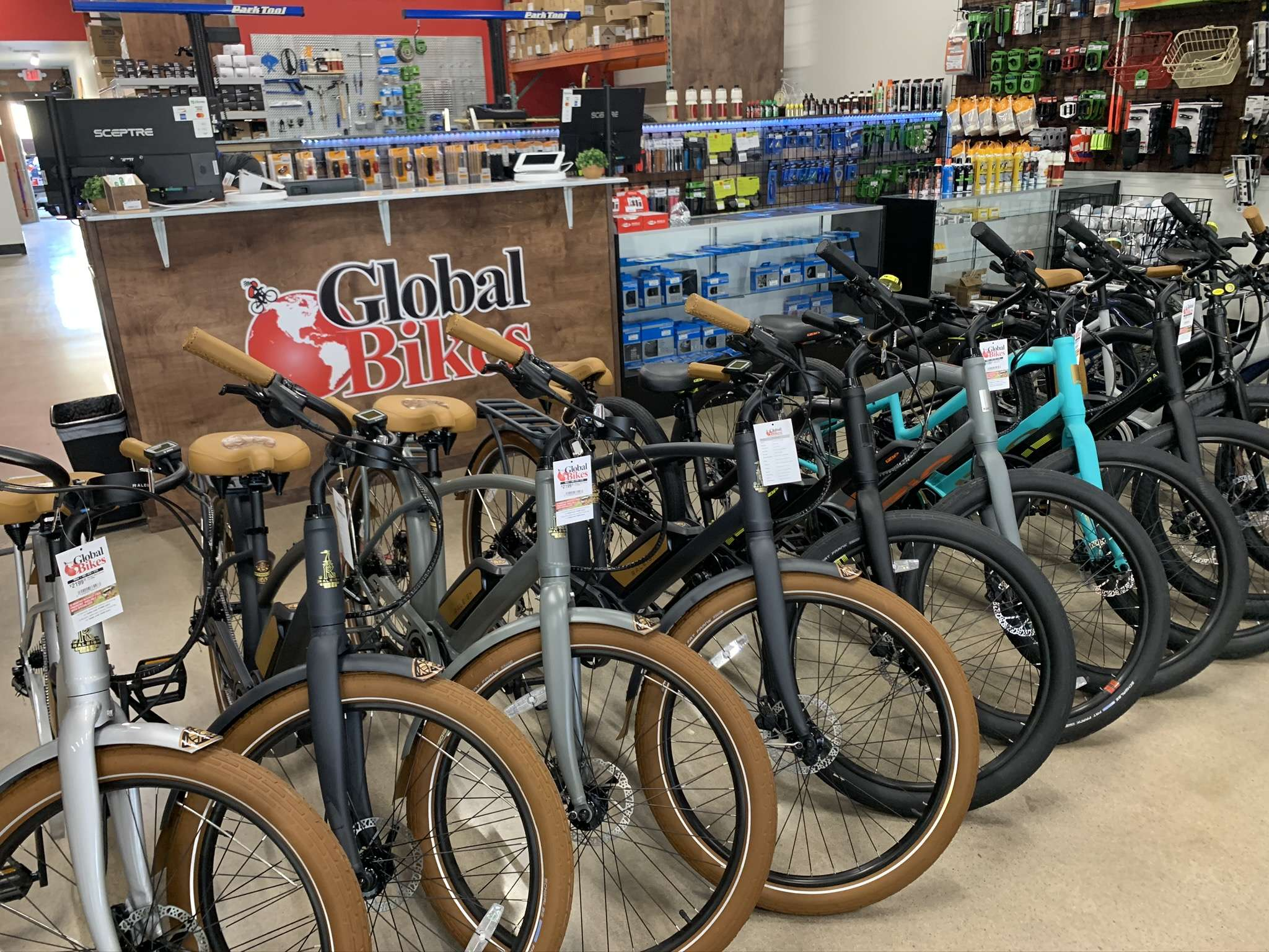 Global Bikes Mesa Location
