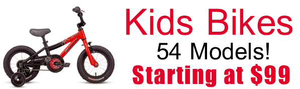 Kids Bikes - 54 Models - starting at $99 - Specialized - Raleigh - Global Bikes