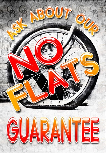 Ask About Our No Flats Guarantee | Global Bikes