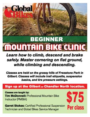Mountain bike class, mtb clinic, mountain bike beginner, mountain bike beginner class, learn how to mountain bike, how to mtb, class on mountain biking