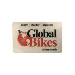Global Bikes Gift Card