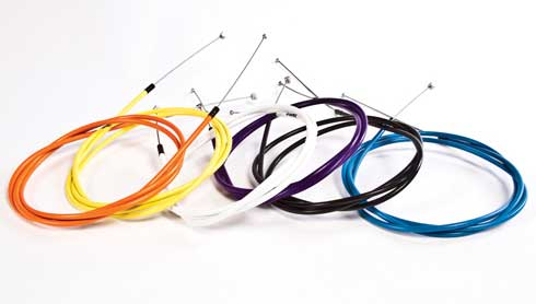 The High Wire Cables are available in black, white, yellow, orange or blue.