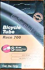 Continental Inner tube (Presta Valve)