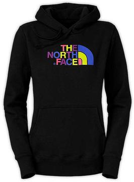 The North Face Women's Half Dome Hoodie Color: Black (Multi Logo)