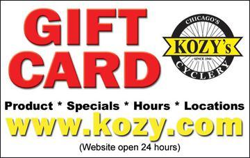 Kozy Gift Cards