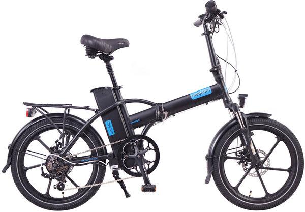 Magnum Electric Bikes Premium High-Step Electric Folding Bike