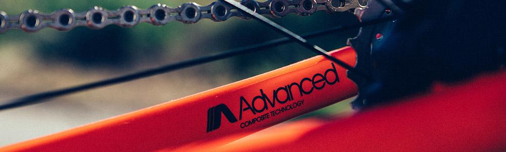 Close-up of Giant Bike Advanced Composite frame