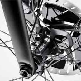Cannondale Wheel Sensor on the 2020 SuperSix EVO bike