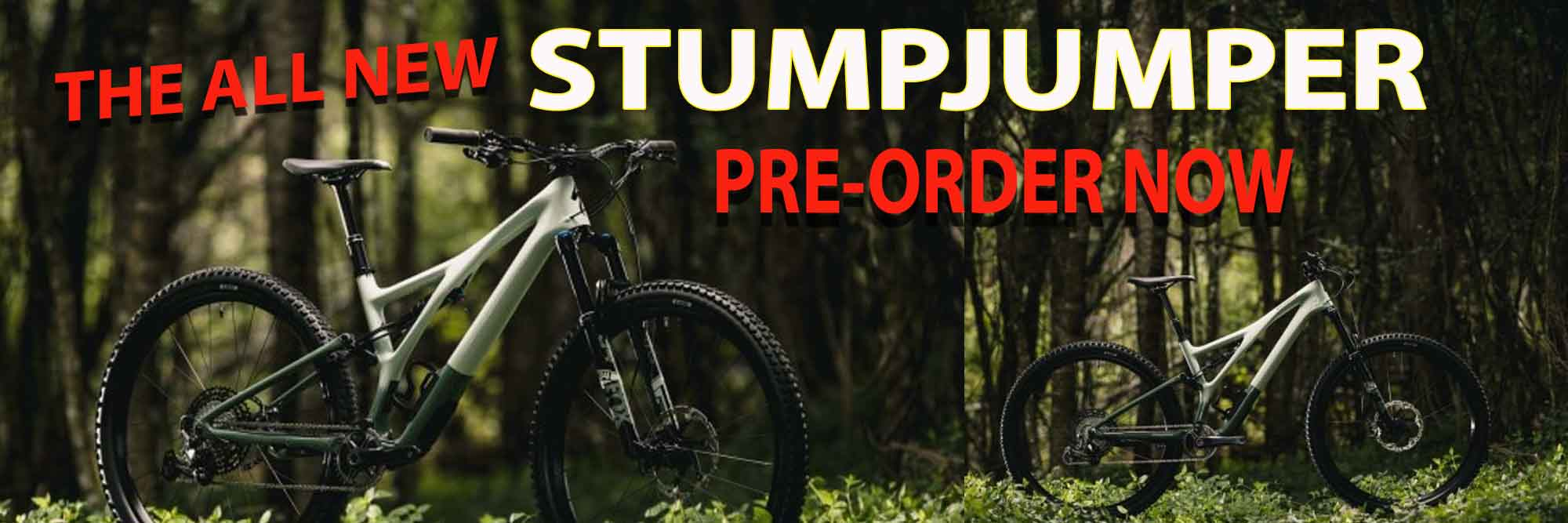 The All New Stumpjumper - Pre-Order Now