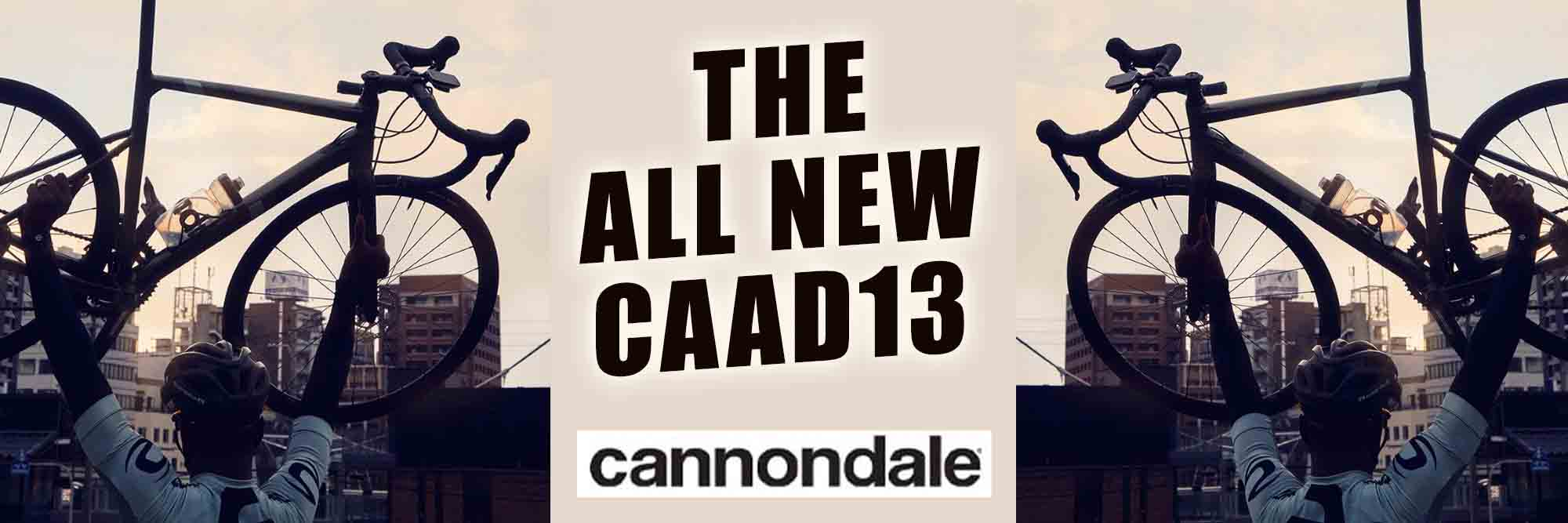 The All New Cannondale CAAD13