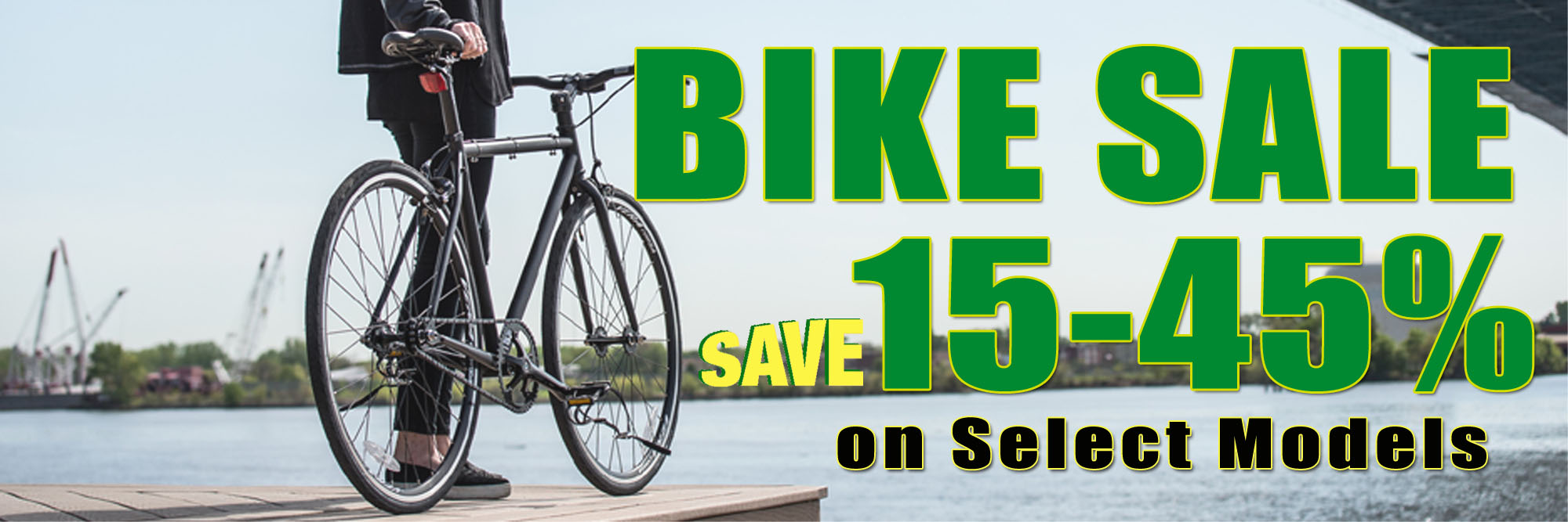 Bike Sale at Kozy's Cyclery
