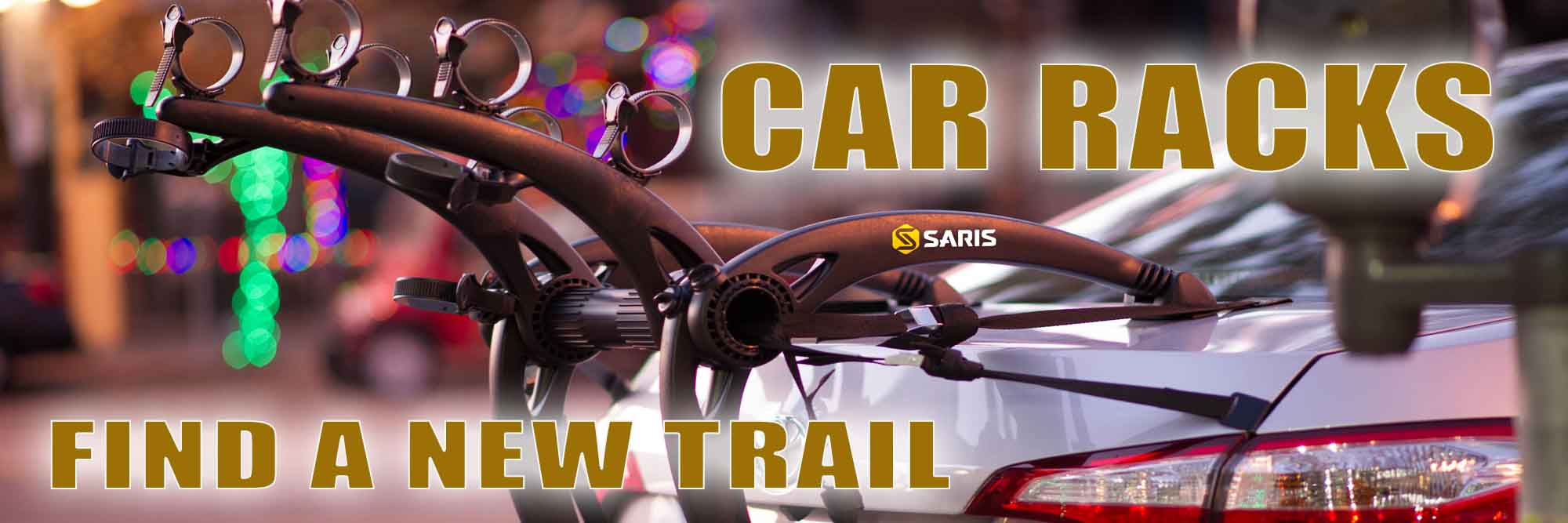 Find a New Trail - Car Racks In-Stock